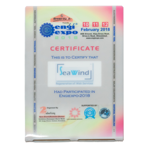 Certificate Engi Expo 2018